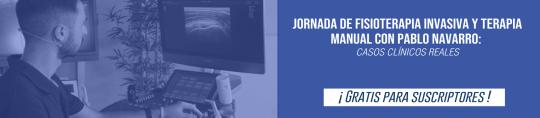 Jornada de Fisioterapia Invasiva y Terapia Manual con Pablo Navarro