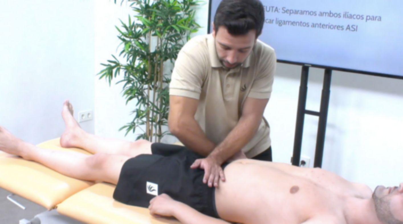 Manipulaciones vertebrales en el raquis y pelvis - Palma