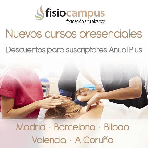 Banner cursos presenciales FisioCampus