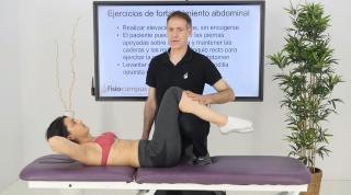 Ejercicios de fortalecimiento abdominal