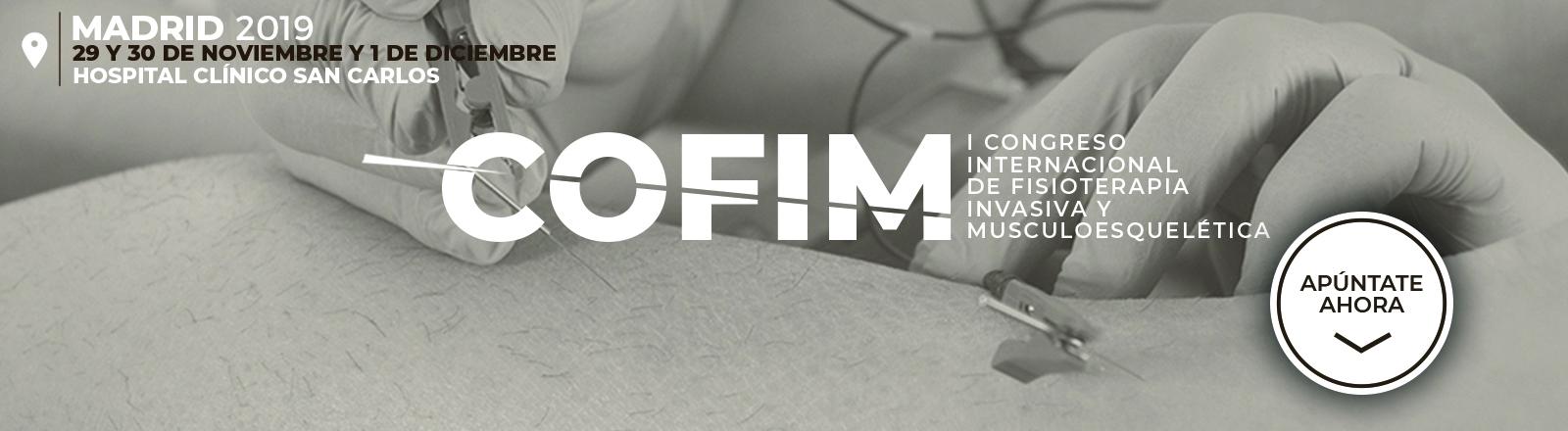 I Congreso Internacional de Fisioterapia Invasiva y Musculoesquelética
