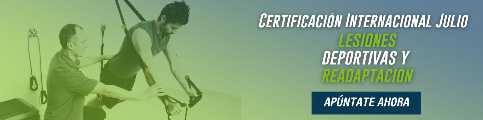 Certificación Deportiva Julio 2021