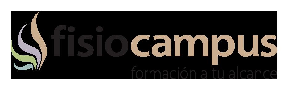 logo fisiocampus horizontal con lema